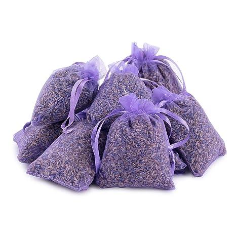 Pajoma 10 hochwertige Lavendelsäckchen mit jeweils 10g Inhalt