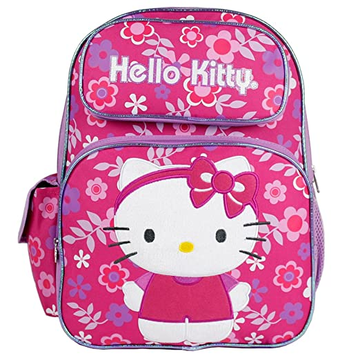 Image Unavailable. Image not available for. Color  Hello Kitty - Large  16 quot  Full-size Backpack - Flower Shop 041d3ddc281dd