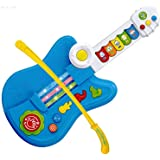 WolVol 3-in-1 Electric Kids Guitar Toy with Violin Stick and Piano Transformation, For Little Boys