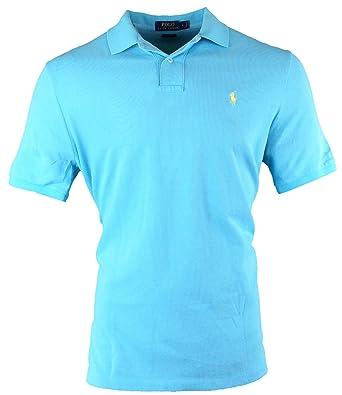 Polo Ralph Lauren - Polo de Malla de algodón para Hombre - Azul ...