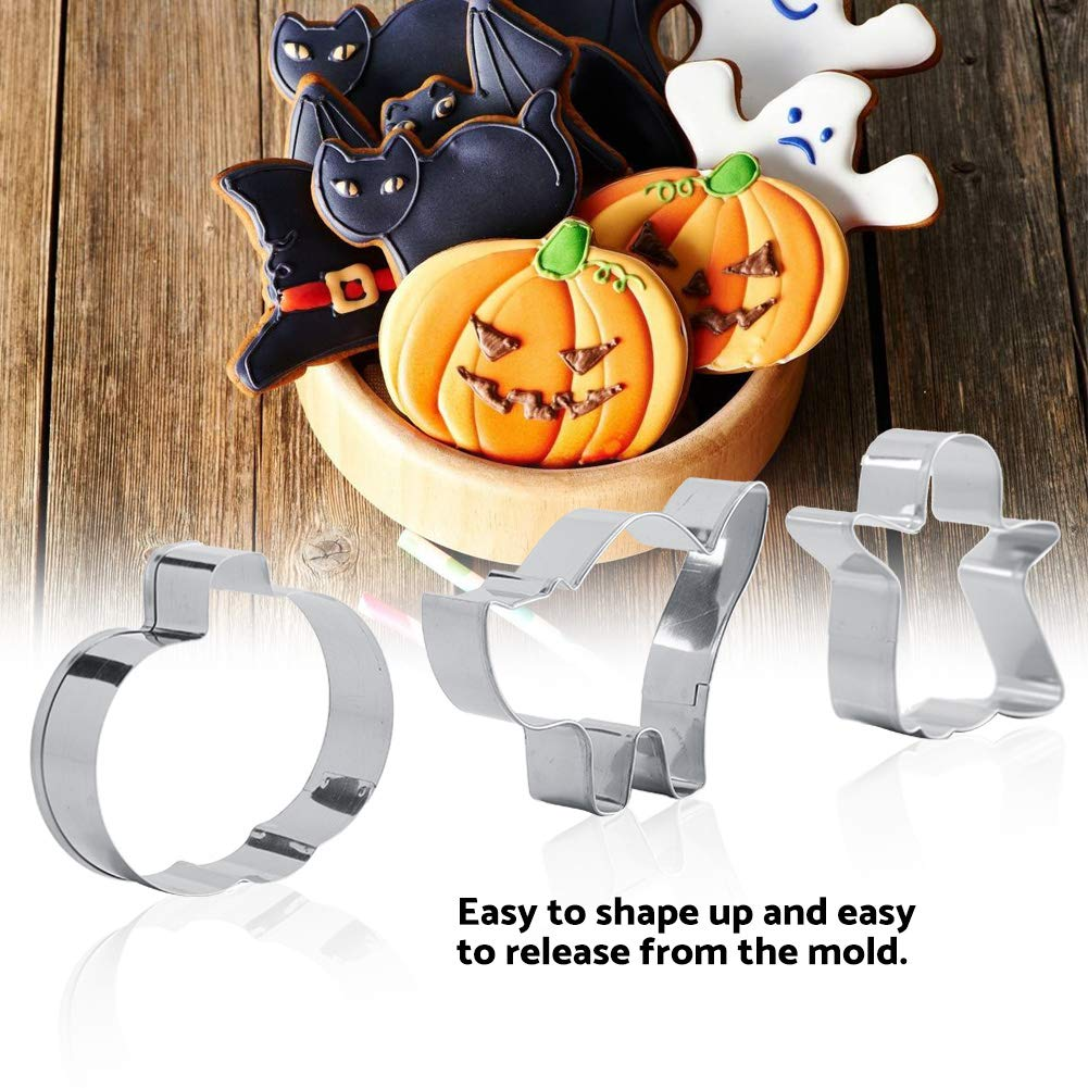 Amazon.de: 3 teile/satz Halloween Thema Edelstahl Cookie Formen Keks ...