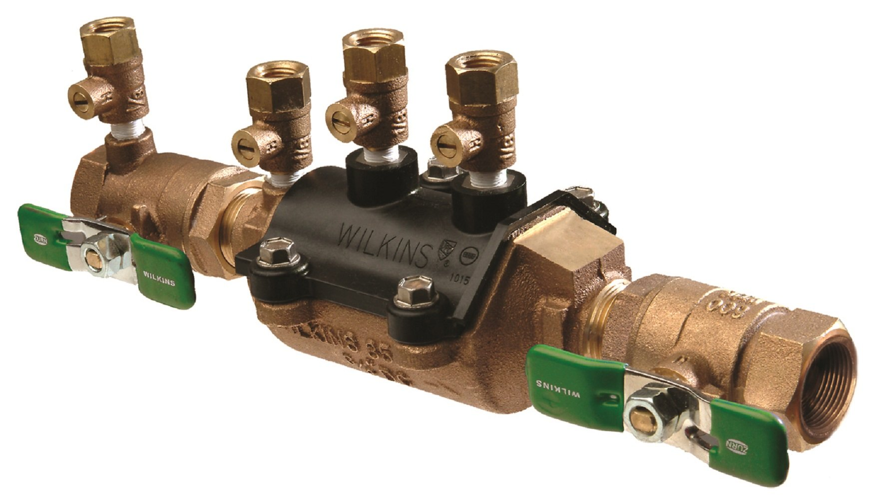 Zurn 34-350XL Lead Free  Double Check Valve Assembly, 3/4'' FNPT, Bronze