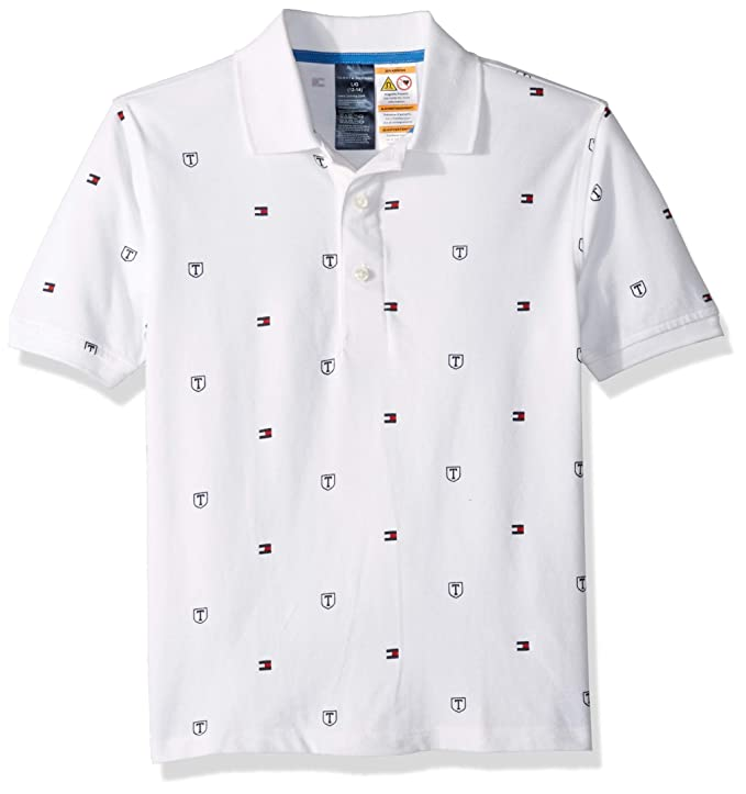Tommy Hilfiger Adaptive Niños 7182851 Manga Corta Camisa Polo ...