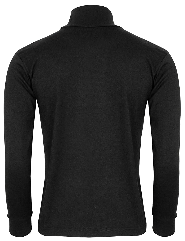 6d6f9e6b BCPOLO Men's Turtleneck Shirt Long Sleeve Cotton Mock Neck Shirt:  Amazon.co.uk: Clothing