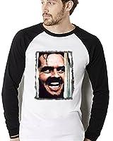 Jack Nicholson The Shining T Shirt scary Movie Horror Film Here's Johnny