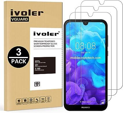 VGUARD [3 Unidades] Protector de Pantalla para Huawei Y5 2019 ...