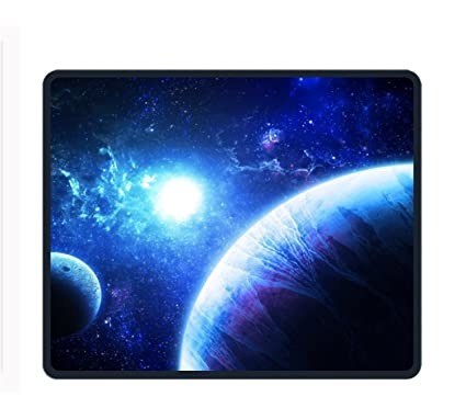amazon com fantasy planets rectangle non slip rubber mousepad