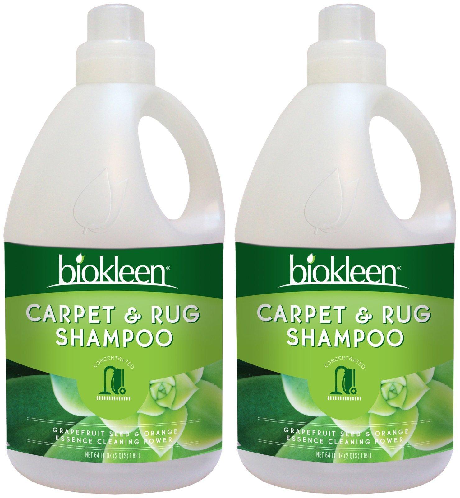 Biokleen Carpet & Rug Shampoo Concentrate, 64 oz-2 pk