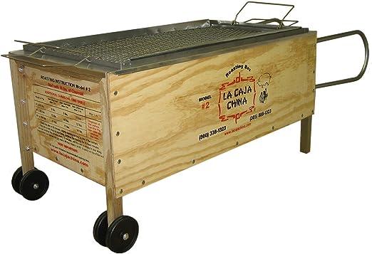 La caja china # 2 100 libras Incluye termómetro para carne y Jeringuilla: Amazon.es: Jardín