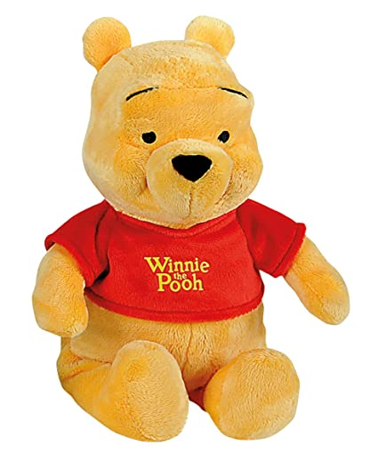 Smoby-6315872673 Winnie The Pooh Peluche 35cm, Color Rojo ...