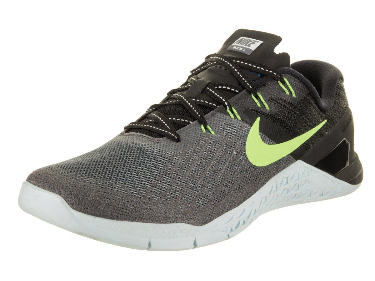 Nike Womens Metcon 3 Training Shoes B06XKQVWSM 10.5 B(M) US|Dark Grey/Ghost Green