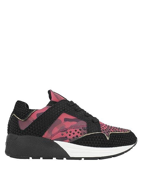 REPLAY - Zapatillas para mujer rojo granate, color rojo, talla 36: Amazon.es: Zapatos y complementos