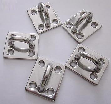 Pontet sobre platino 50 x 40 mm (lote de 5) acero inoxidable ...