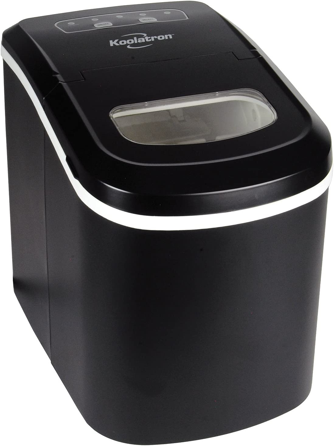 Koolatron KIM-26 Ice Maker, Black