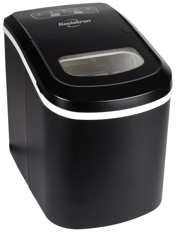 Koolatron KIM-26 Ice Maker, Black