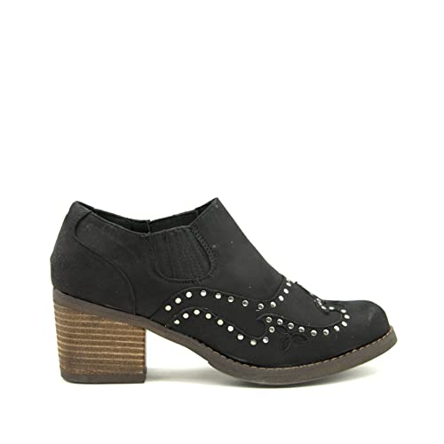 5d0137ed3be GottaBe Women´s Booties Texas Style with Perforations and Studs Ladies  Shoes (6)