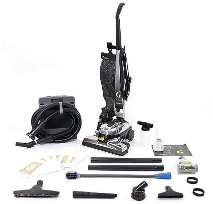 GV Aspirador de G4 con las herramientas, cepillo, turbo y bolsas 10Pc Negro