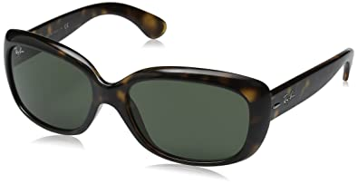 e67c61ca80 Image Unavailable. Image not available for. Color  Ray-Ban RB4101 Jackie Ohh  Highstreet Fashion Sunglasses - Light Havana Crystal ...