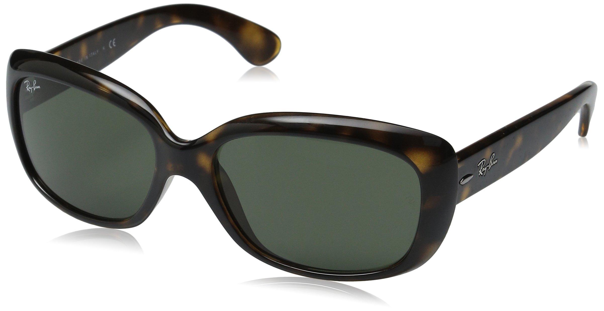 Ray-Ban RB4101 Jackie Ohh Highstreet Fashion Sunglasses - Light Havana/G-15 XLT / One Size Fits All