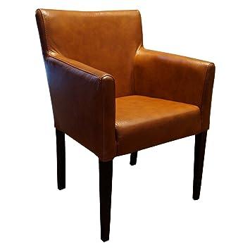 Breite Echtleder Esszimmerstuhle Mit Armlehnen Kross Arm Stuhl Sessel Echt Leder Stuhle Lederstuhle
