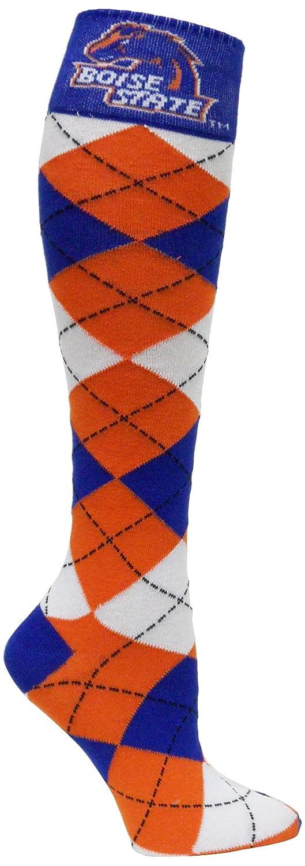 b9c035a3107 Amazon.com   NCAA Boise State Broncos Argyle Dress Socks   Sports Fan Socks    Sports   Outdoors
