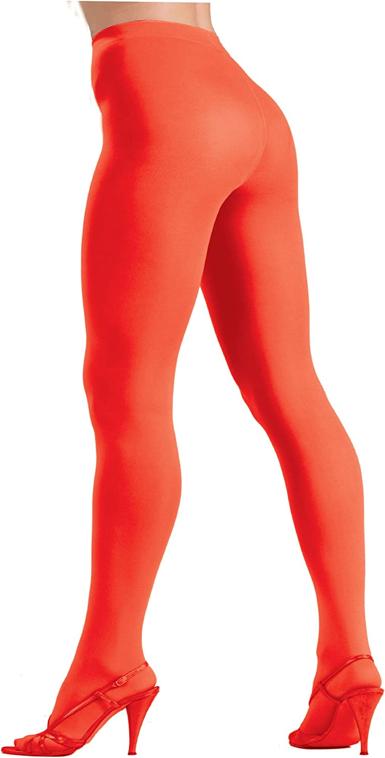 Forum Novelties Womens Plus-Size Novelty Solid Color Queen Tights