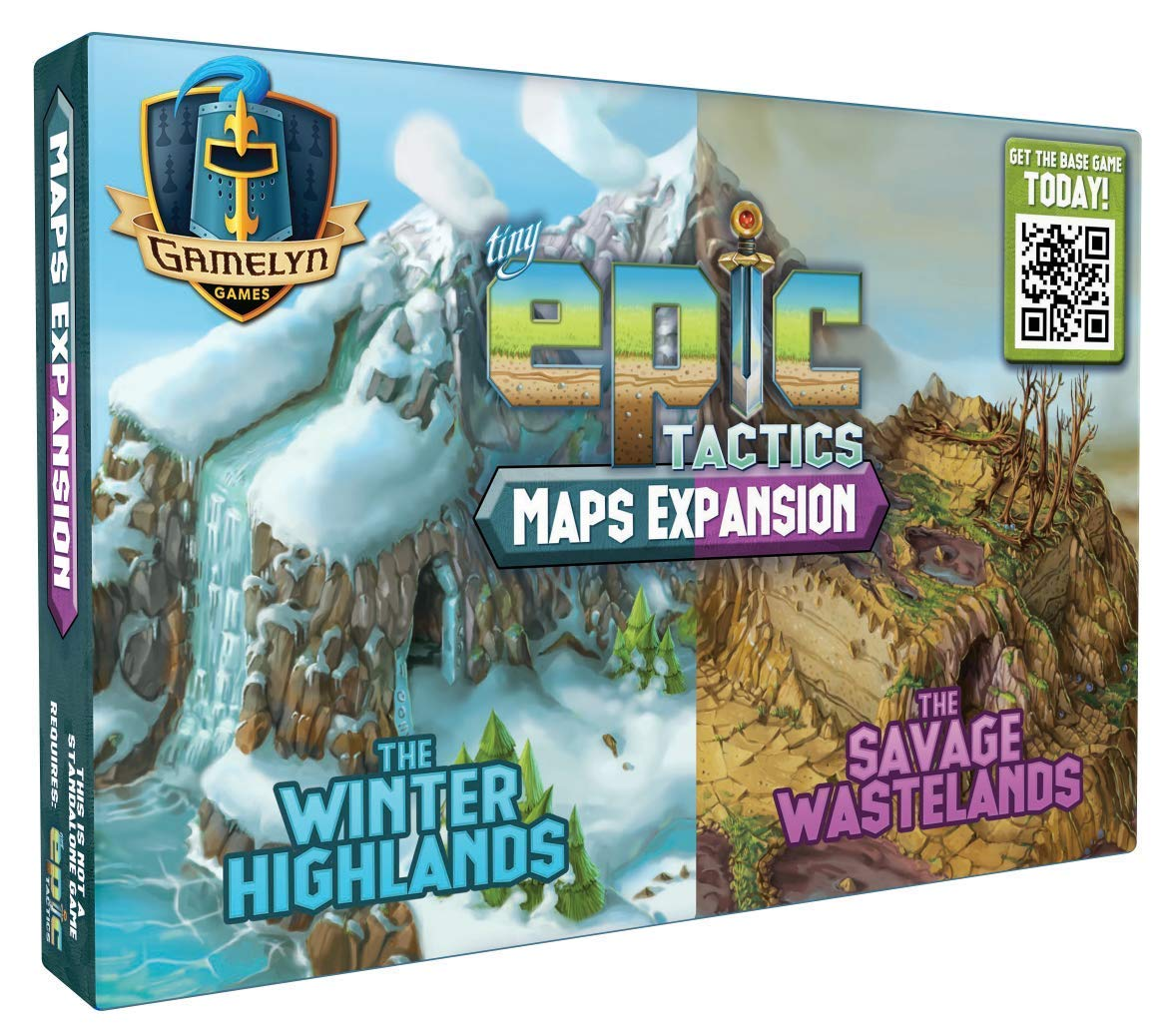 Gamelyn Games Map Pack: Tiny Epic Tactics