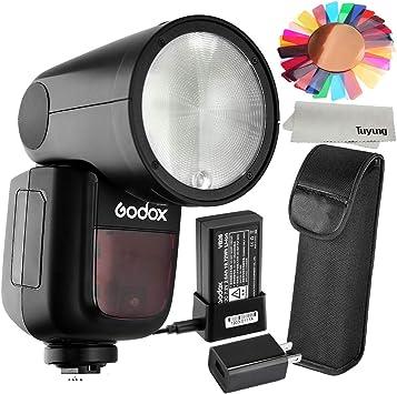 GODOX V1-O Flash Speedlight for Olympus Panasonic with xpro-O Trigger 76Ws 2.4G TTL 1//8000 HSS 1.5 sec Recycle Time 480 Full Power 2600mah Li-ion Battery