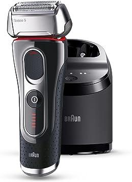 Afeitadora Braun Series 5 5090CC con estación de carga y limpieza automática impulsada por FlexMotionTec y PowerDrive: Amazon.es: Salud y cuidado personal
