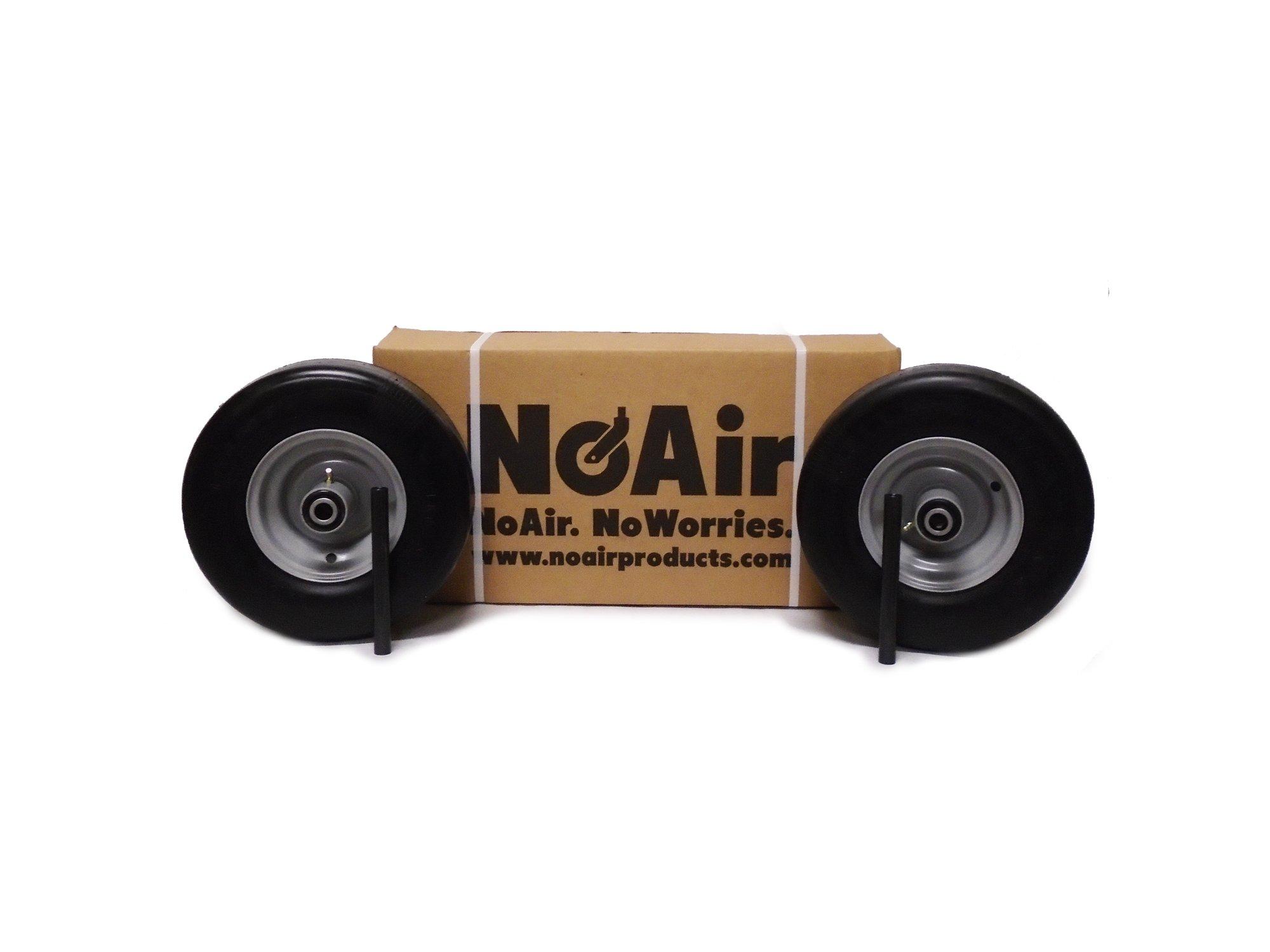 (2) Ferris Flat Free Tire Assemblies 13x5.00-6 IS 1500 2000 2100 Part 5022631 by NoAir (Image #1)