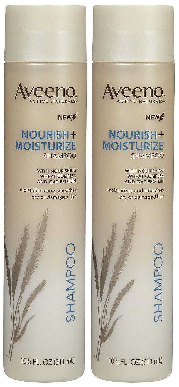 Aveeno Nourish + Moisture Shampoo - 10.5 oz - 2 pk