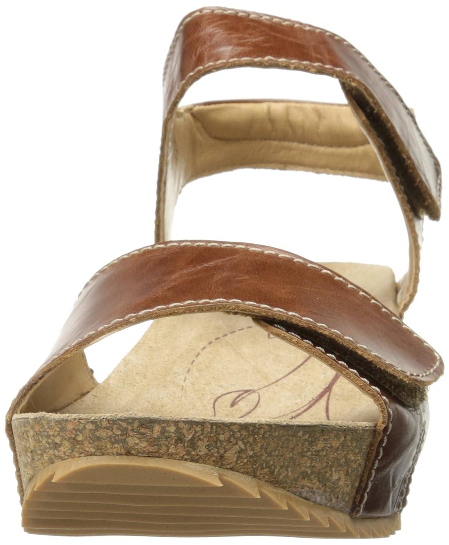 Josef Seibel Women's Meike 11 Wedge Sandal B01KXWUTCI 39 EU/8-8.5 M US Brandy