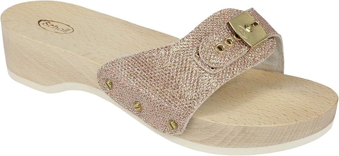 Scholl Clogs pescura Heel: : Schuhe & Handtaschen