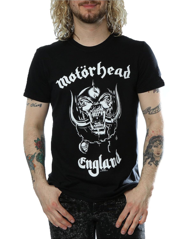 Black t shirt amazon - Official T Shirt Motorhead Everything Louder England All Sizes Amazon Co Uk Clothing