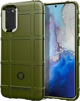Henxunton Funda para Samsung Galaxy S11E, Armadura TPU Silicona Carcasa Suave Funda Case Cover para Samsung Galaxy S11E Smartphone (Verde): Amazon.es: Electrónica