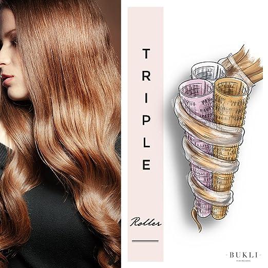 Amazon.com: bukli Haircare Curling flautas, 14 unidades: Beauty