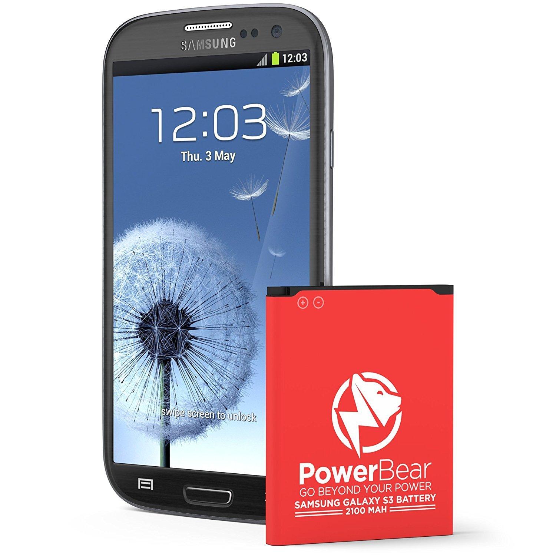 Samsung galaxy battery s3 verizon - Amazon Com Powerbear Samsung Galaxy S3 Battery 2 100 Mah Li Ion Battery For The Galaxy S3 I9300 I9305 Lte I535 Verizon T999 Tmobile I747 At T