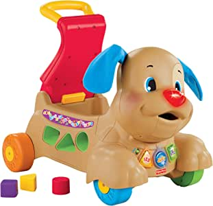 Fisher-Price Laugh & Learn Stride-to-Ride Puppy [Amazon Exclusive] (BMG86)