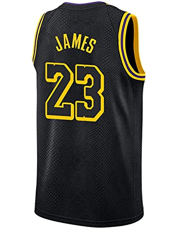 a310a34428 WELETION Los Angeles Lakers Jersey 23  Lebron James Male Baloncesto Ropa