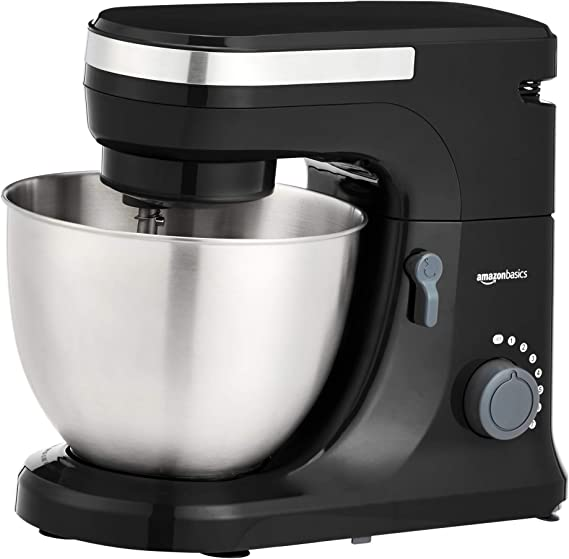 AmazonBasics Multi-Speed Stand Mixer with Attachments