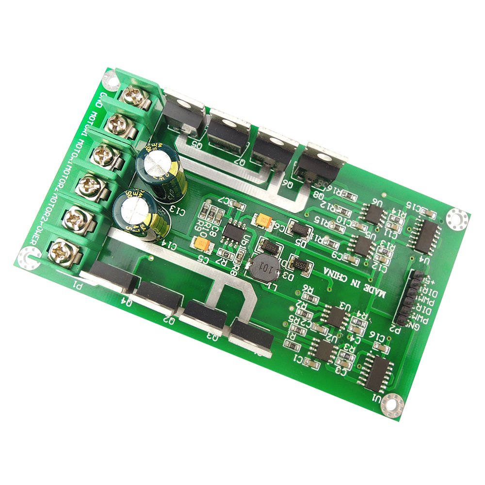 Uniquegoods H Bridge Dc Dual Motor Driver Pwm Module 336v 15a Amplifier It Is Such A Complete Hbridge Peak 30a Irf3205 High Power Control Board For Arduino Robot Smart Car