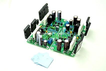 Amazon com: L20SE Dual-Channel 350W+350W 4ohm 2SA1943