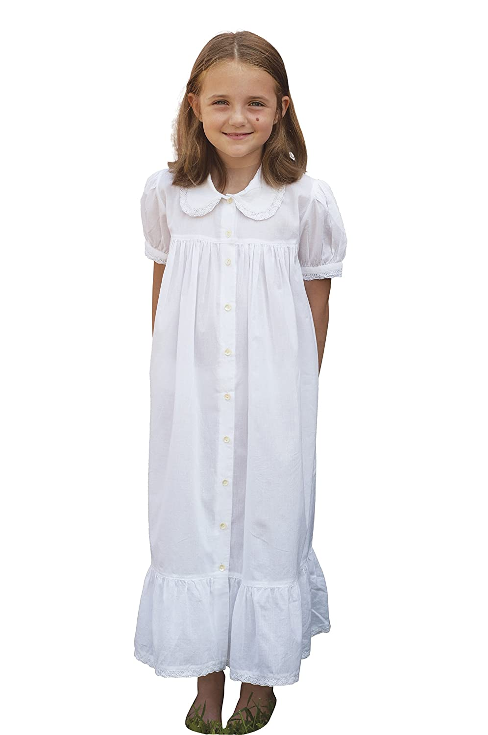 Victorian Kids Costumes & Shoes- Girls, Boys, Baby, Toddler Chrissy Girls Petticoat $21.00 AT vintagedancer.com