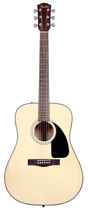 Fender CD 100 Natural V2 Guitarra acústica folk de guitarras ...