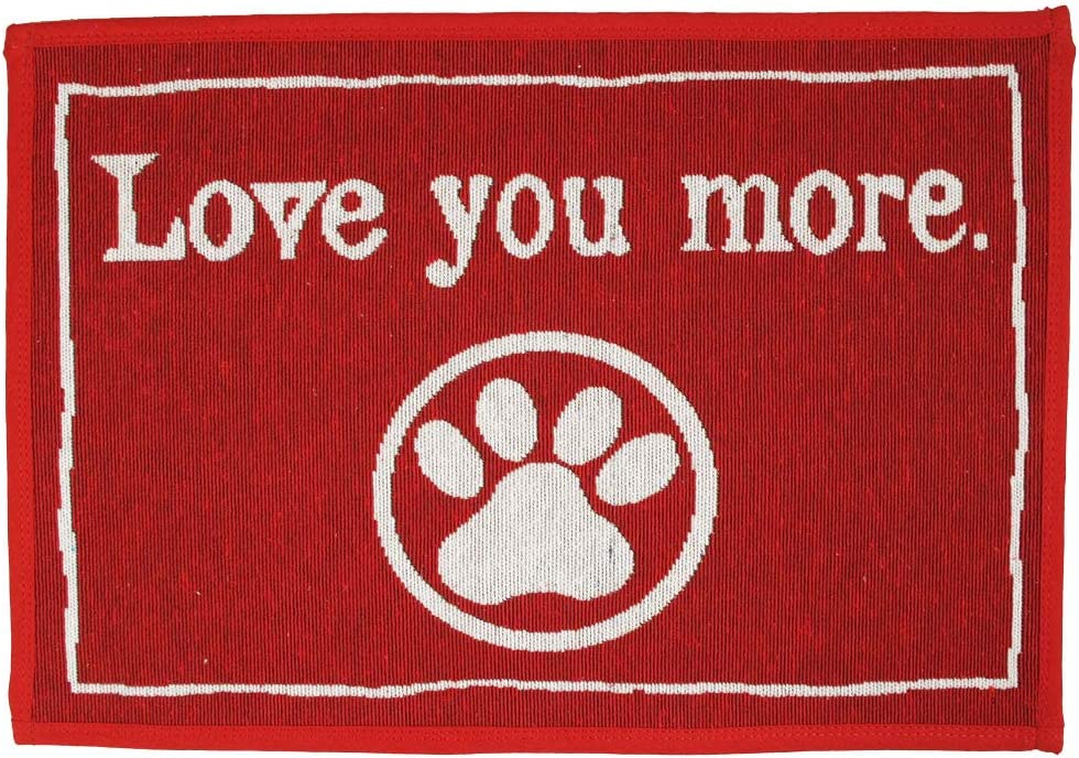 """Pets Choice Decorative Dog Food Mat 