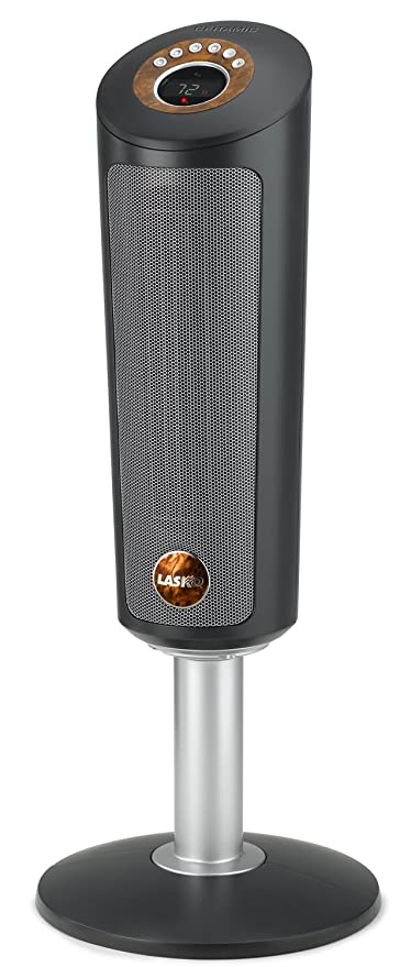 Lasko 753500 30 Inch Digital Ceramic Oscillating Pedestal Heater With  Remote Control