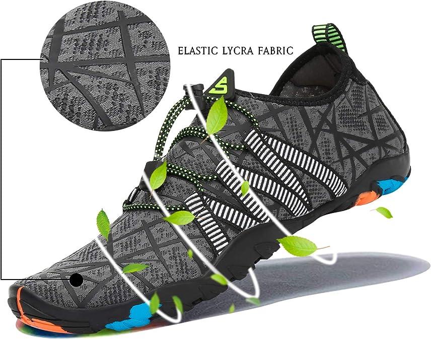 Zapatos de Agua Mujer Escarpines de Hombre Verano Outdoor Secado Rápido Surf Calzado Natacion,Gr.35-48 EU: Amazon.es: Zapatos y complementos