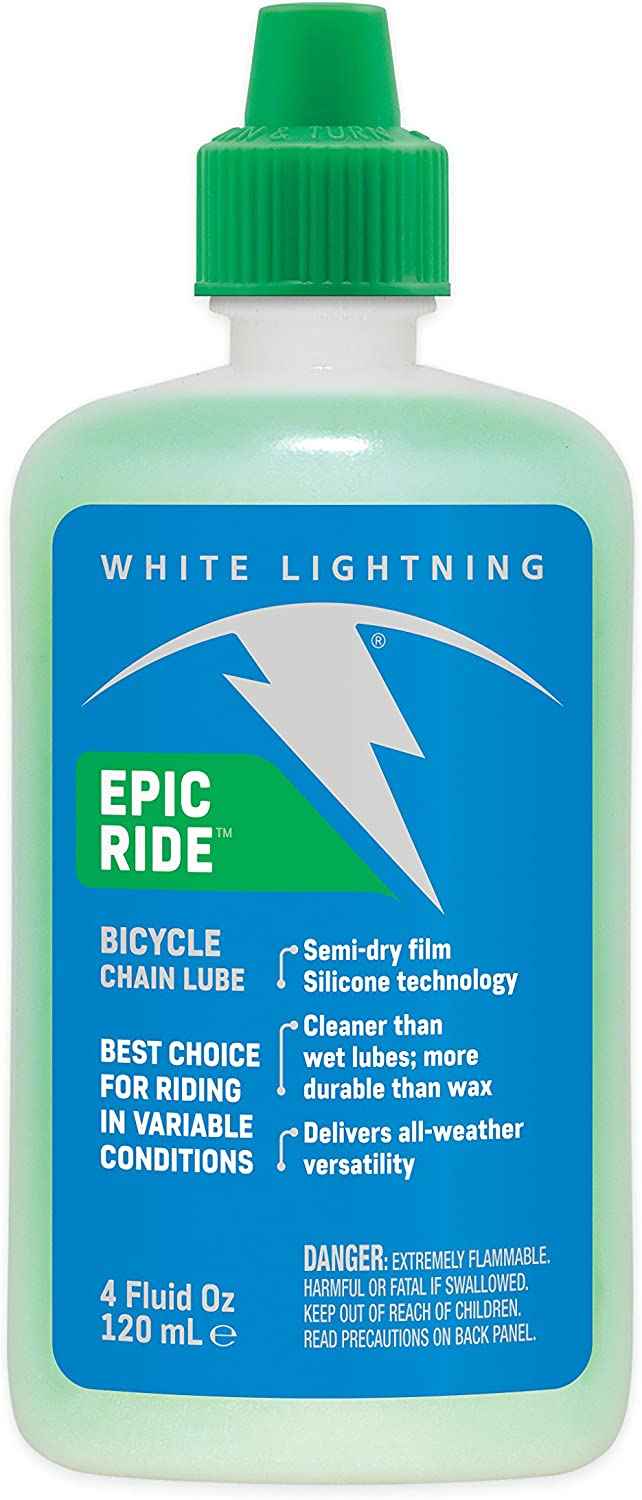 White Lightning Epic Ride All Conditions Light Bicycle Lube