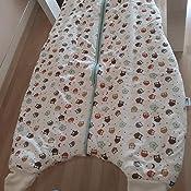 Saco de Dormir con Pies de Invierno Slumbersac para Niño aprox.3.5 Tog - Búho- 3-4 años
