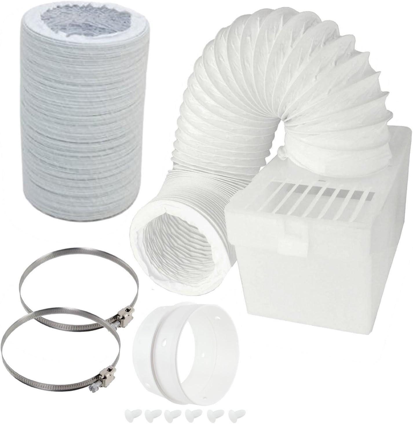 Spares2go condensador caja & Extra larga manguera Kit con conexión anillo para Bosch secadora (4